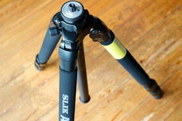 【SLIK】PRO700DX(脚のみ)カメラ三脚を開封