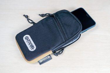【ハクバ】iPhoneの持ち運びに最適!「OUTDOOR PRODUCTS」 スマートフォンポーチ04